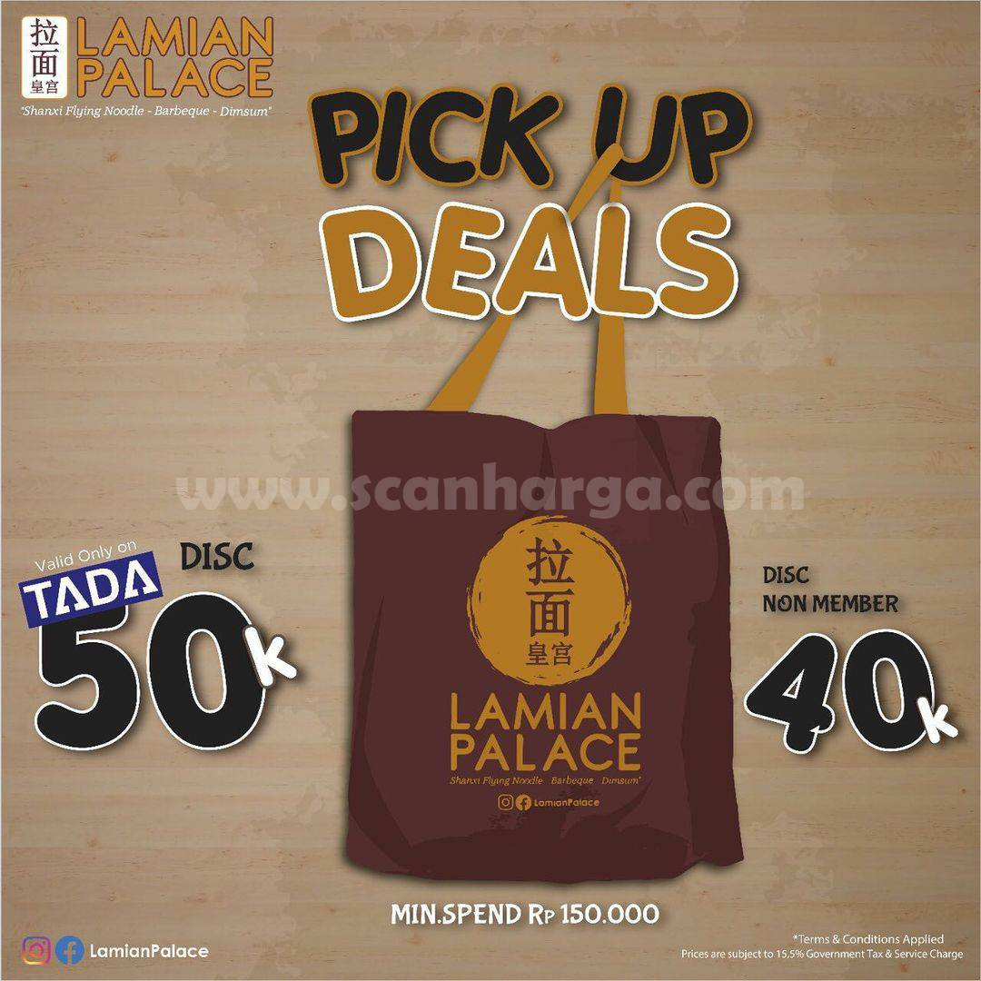 LAMIAN PALACE Spesial Promo Pick Up Deals