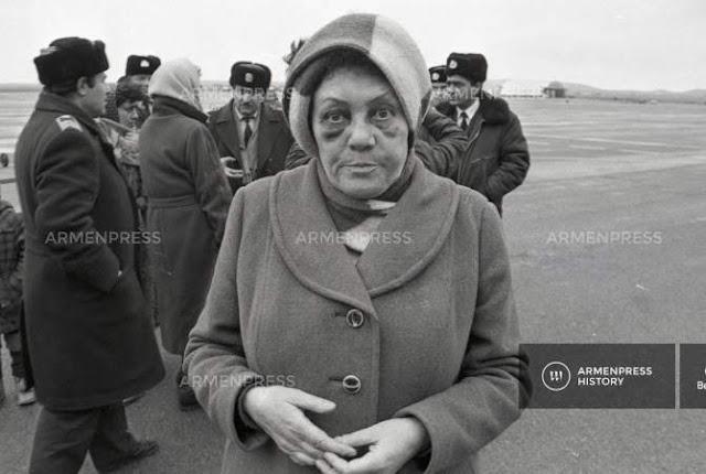 El pogromo de armenios de Bakú de 1990
