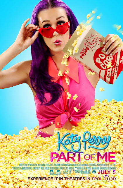 Katy Perry Part of Me Movie Pop corn Movie Poster