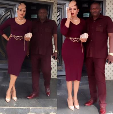 Actress Nkiru Umeh and husband celebrate 15th wedding anniverary