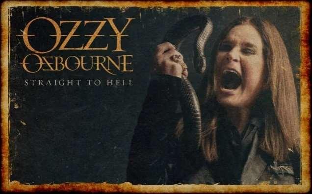 """OZZY OSBOURNE: Ακούστε το νέο single """"Straight To Hell"""" με την συμμετοχή του Slash"""