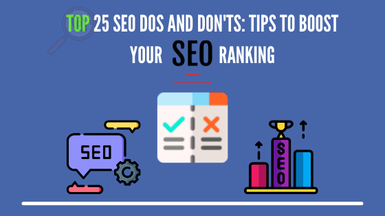 seo dos and donts