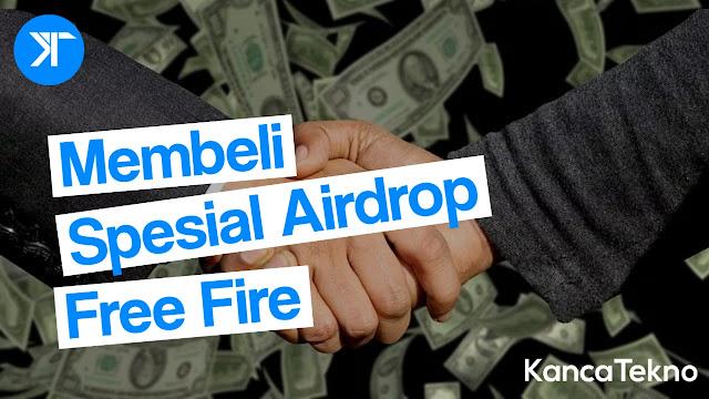 Cara Mudah Membeli Spesial Airdrop FF (Free Fire) Dengan Pulsa