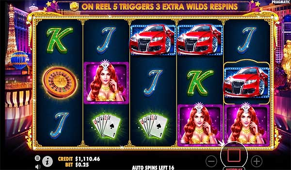 Main Gratis Slot Indonesia - Vegas Nights (Pragmatic Play)