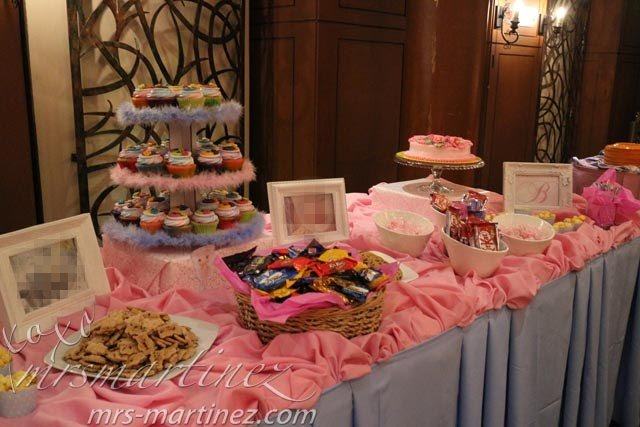Diy Candy Buffet In Pink Mrsmartinez S Raves And Rants