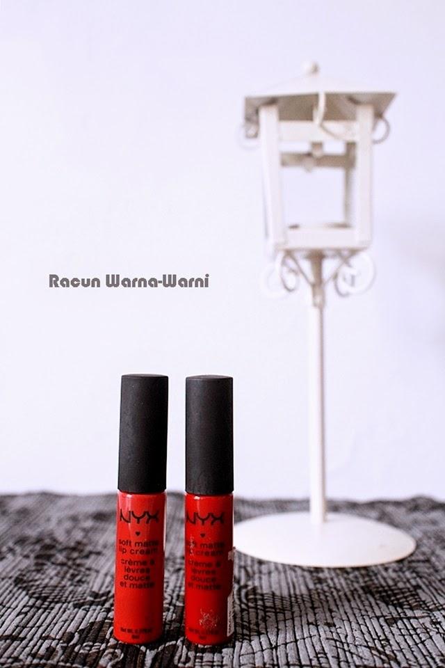 Memilih Lipstik Warna Merah