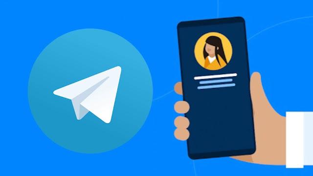 Hide phone number on Telegram