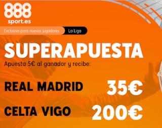 888sport superapuesta liga Real Madrid vs Celta 16 febrero 2020