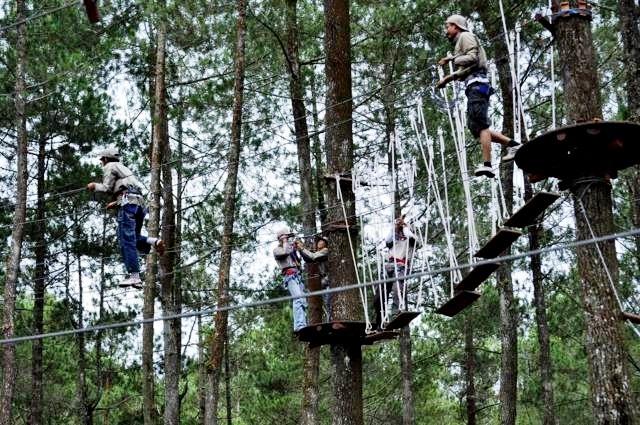 BANDUNG TREETOP - 15 TEMPAT OUTBOUND LEMBANG BANDUNG (UPDATE) - ZONA ADVENTURE