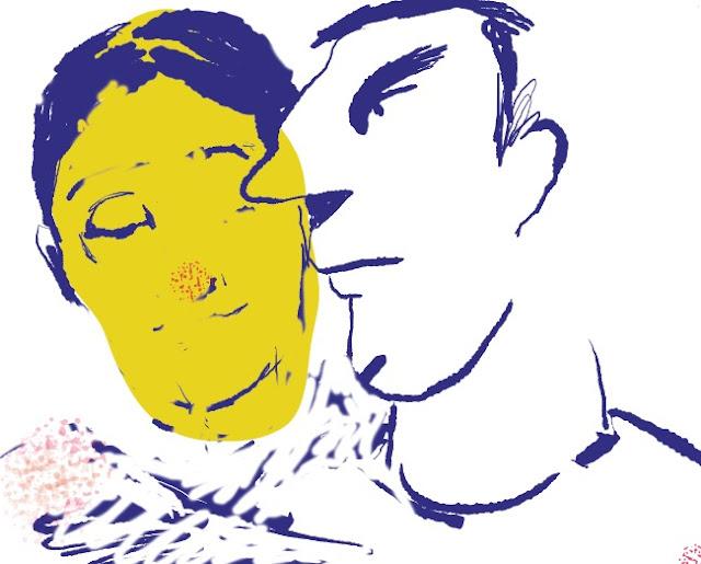 affinity, Zeichnung, illustration, Liebe,