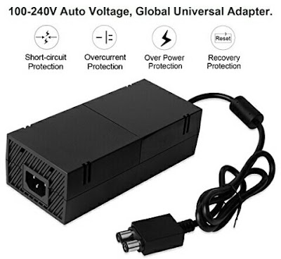 Xbox One Charger - Power Adapter with Cable