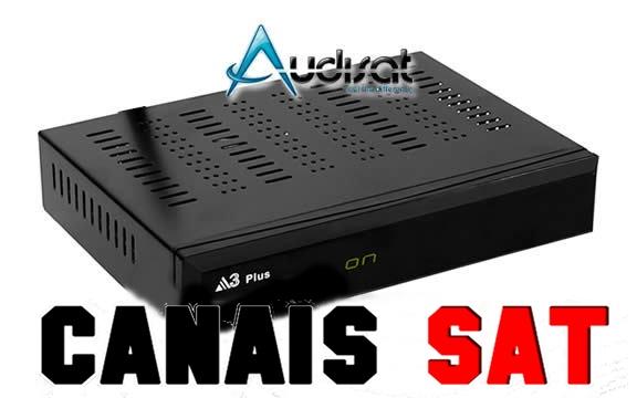 Audisat A3 Plus Nova Atualização V1.4.06 - 02/07/2019