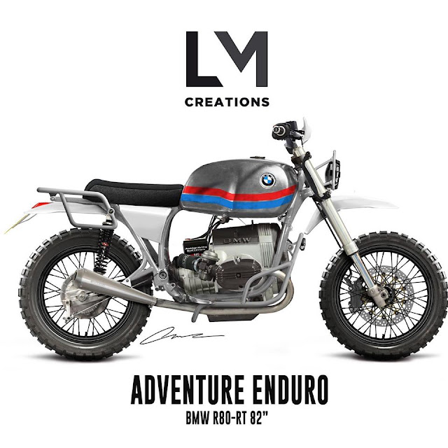 """""""r80 ADV Enduro"""" / Outsiders Motorcycles"""