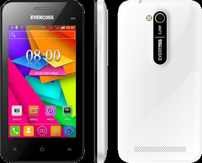 Gambar HP Evercoss A5A Putih