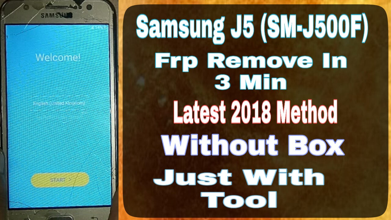 Samsung Sm J500f Frp Remove Successfully Just 5mnt In