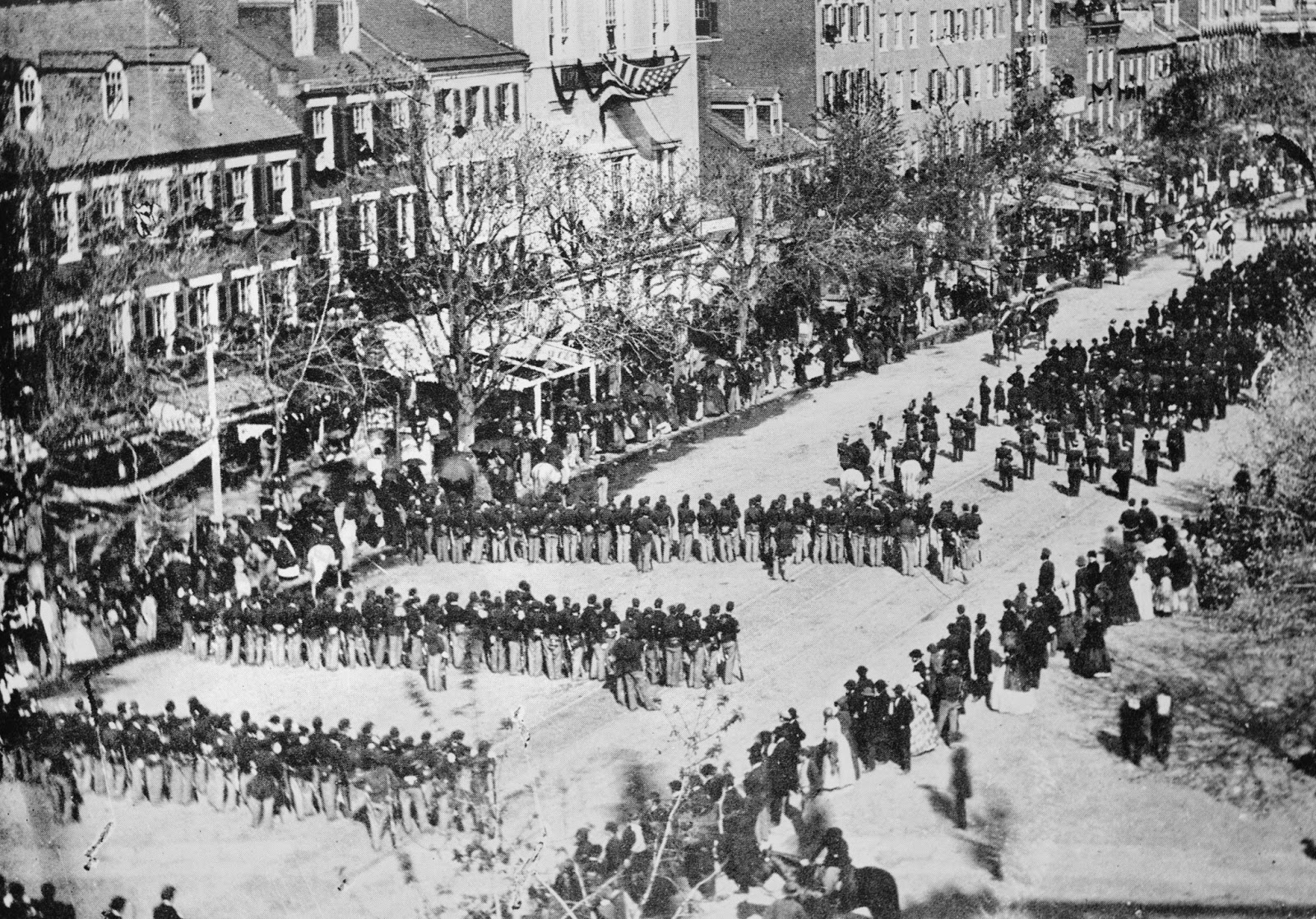 The Civil War of the United States: Funeral of Abraham ...