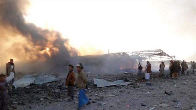 Arabia Saudí bombardea noroeste de Yemen 170 veces en un solo día