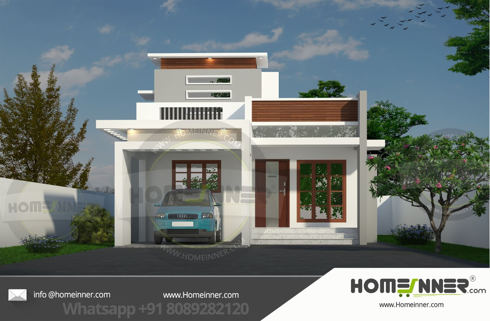 13 Lakh 2 BHK 953 sq ft Hapur Villa floor plan