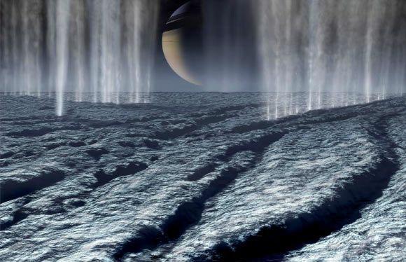 NASA found organic material on Saturn's moon Enceladus!