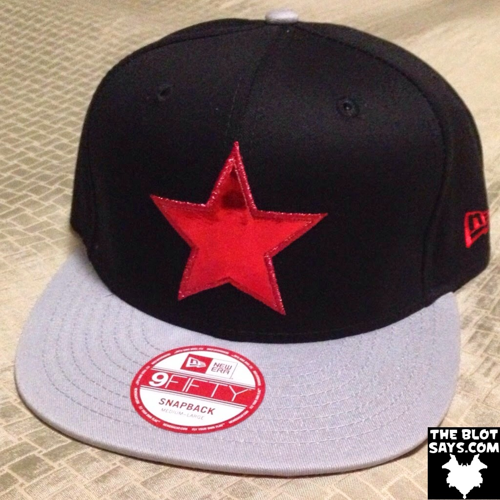 """d184c8914bee HAT REVIEW  """"The Winter Soldier"""" Captain America  The Winter Soldier 9FIFTY  Snapback"""