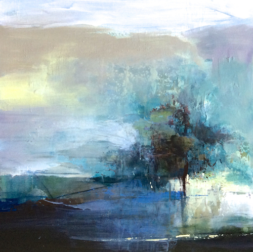 Modern Landscape: Joan Fullerton Paintings: Contemporary Abstract Landscape