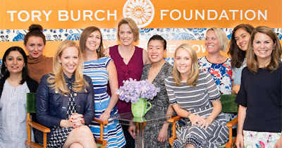 Members of the Tory Burch Foundation