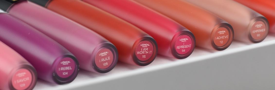 Review Rouge Signature Lippenstife von L'Oréal - alle Farben
