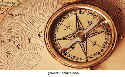 Mengapa Jarum Kompas Selalu Menunjuk Arah Utara dan selatan