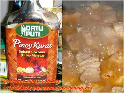 Pork Adobo sa Pinakurat - Cooking Procedure