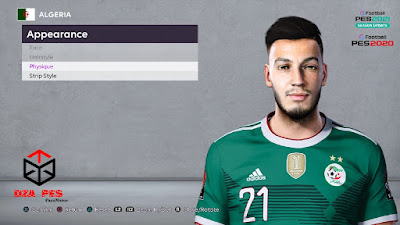 PES 2021 Faces Ramy Bensebaini by Dzayer PES
