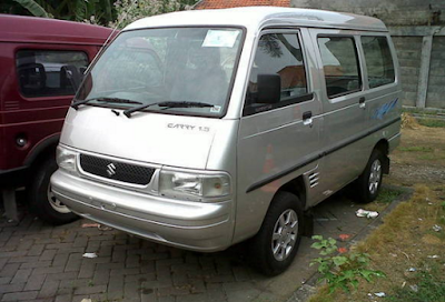Eksterior Suzuki Carry Futura