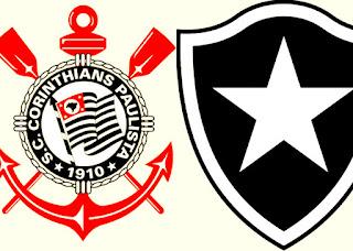 Horário do jogo Corinthians e Botafogo domingo 02/07/2017