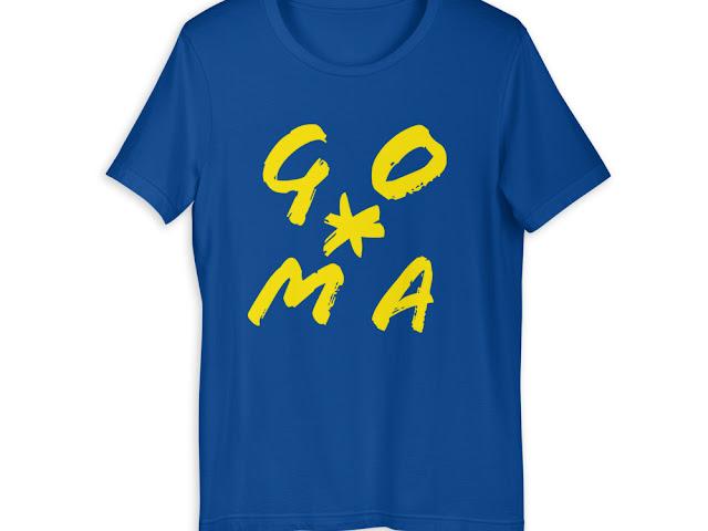 GOMAGEAR GO*MA INITIALS T-SHIRT - WOMEN