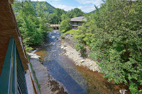 Gatllinburg Lodge on the river