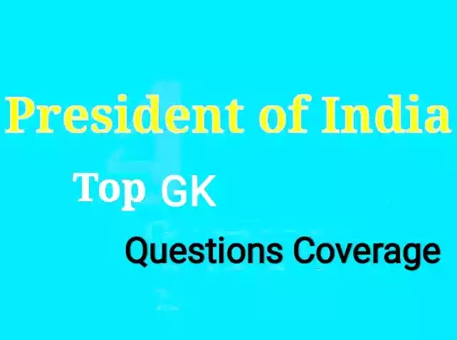 President of India Gk : Full general knowledge of president of india
