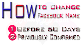 How to change facebok name