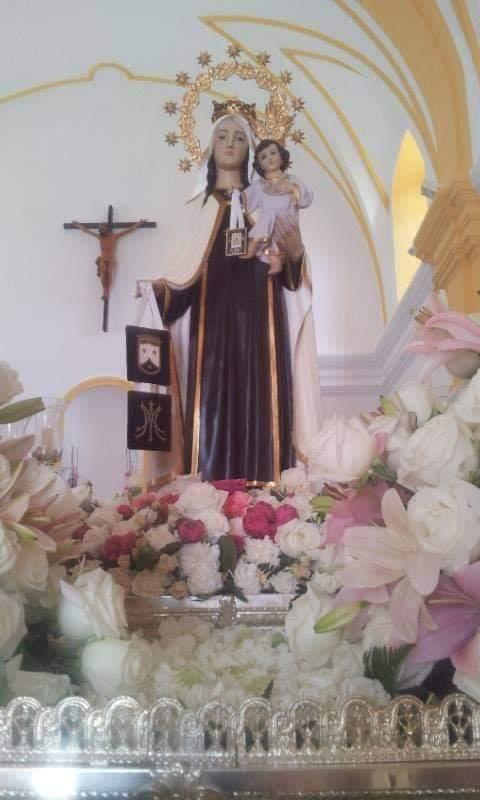 Suspensión de la procesión de Nuestra Señora del Carmen, patrona de Campanillas (Málaga)