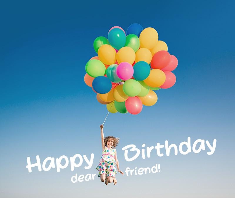 35+ Birthday Wishes for a Dear Friend - Happy Birthday Friend!