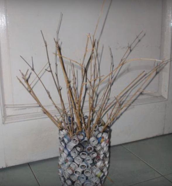 Cara Membuat Vas Bunga Dari Kertas Koran Resep Makanan