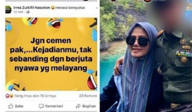 Happening in Indonesia, the wife criticized the Minister, the husband was immediately fired