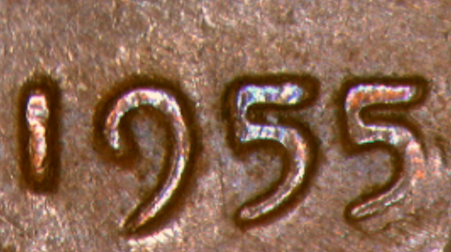 1955 wheat penny double die