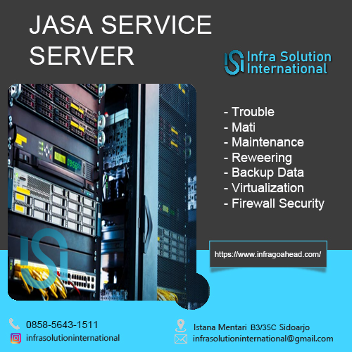 Jasa Service Server Palu Enterprise
