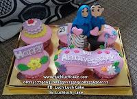 Cupcake Romantis Suami - Istri