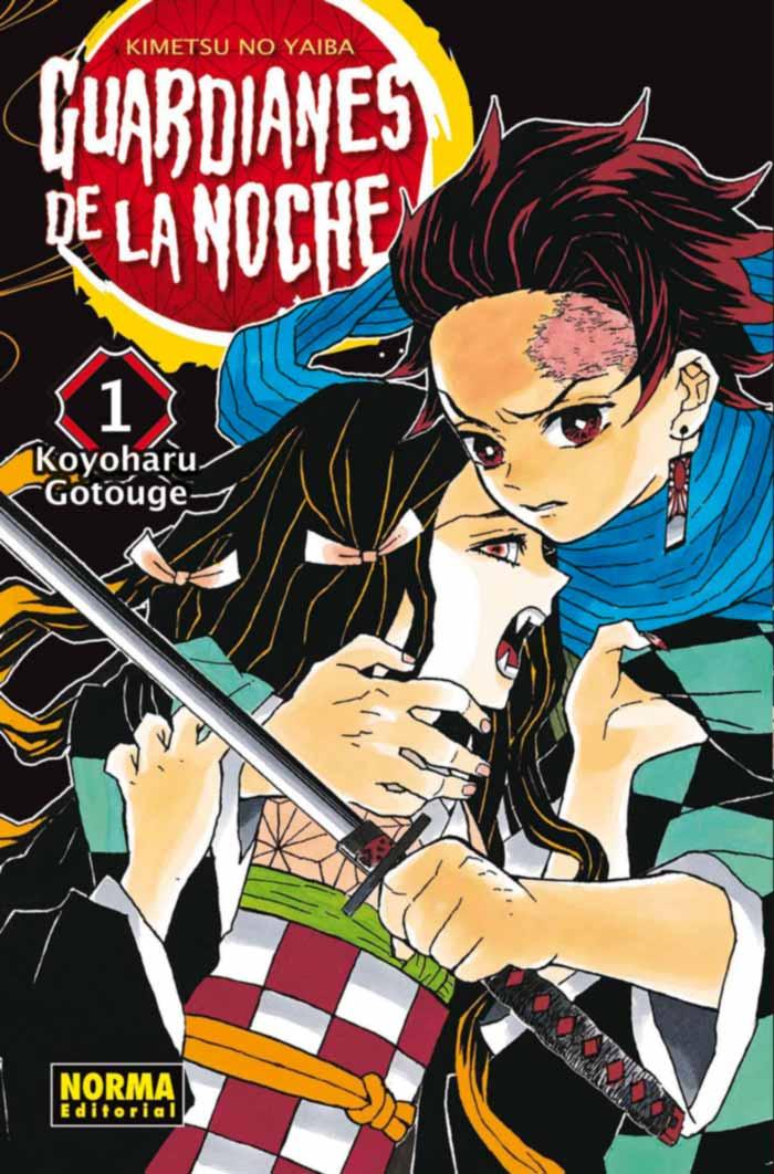 Guardianes de la noche: Kimetsu no Yaiba - Norma Editorial