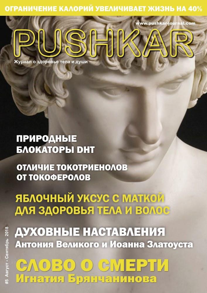 ЖУРНАЛ PUSHKAR #5 АВГУСТ-СЕНТЯБРЬ 2018.