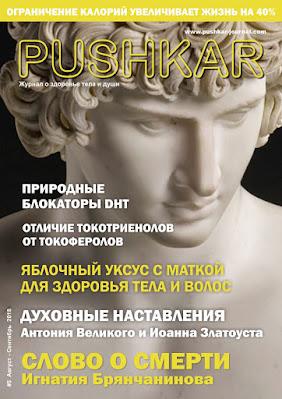 ЖУРНАЛ PUSHKAR №5 АВГУСТ-СЕНТЯБРЬ 2018.