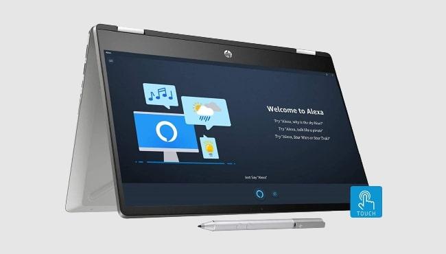 Best laptop for drawings: HP Pavilion x360 dh1010TU