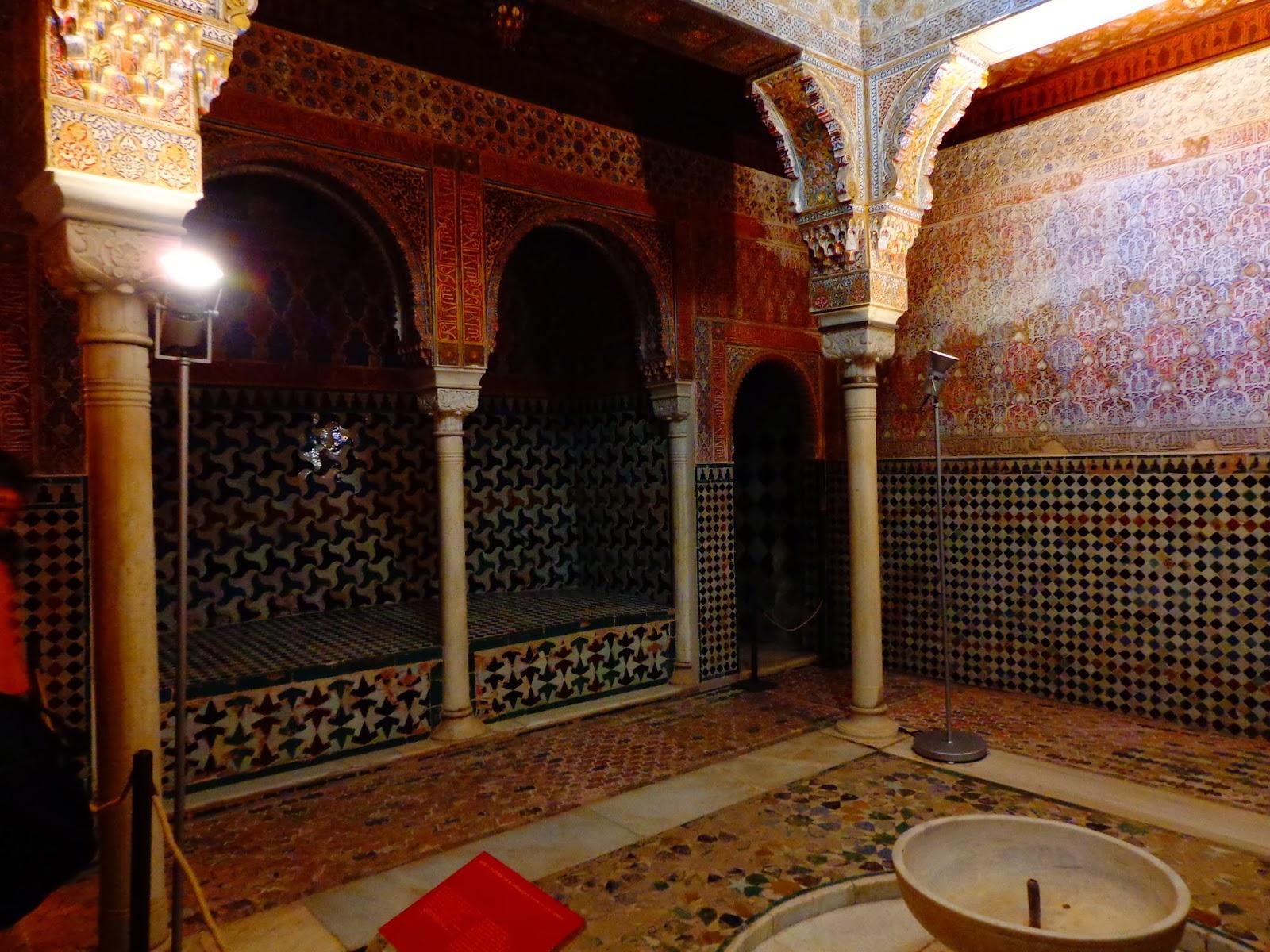 Espacio del mes ba o real de la alhambra o dar al mulk - Fuente de los banos montanejos ...