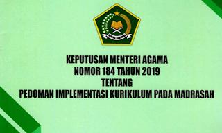 Kurikulum PAI dan Bahasa Arab Madrasah Tahun Pelajaran 2020/2021