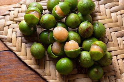 bentuk buah manfaat kandungan dari buah jeruk spanish lime atau jeruk spanyol